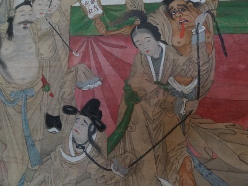 L'ingrat Wang Kui entraîné aux enfers par le fantôme de son épouse trahie Jiao Guiying