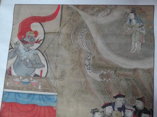 Guanyin et le roi-démon